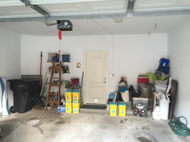 Garage Organization Before 2